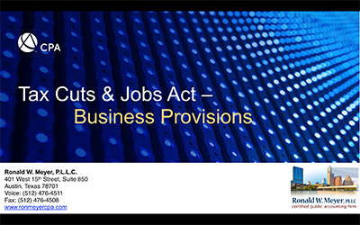 PDF document Tax Cuts and Jobs Act BUSINESS